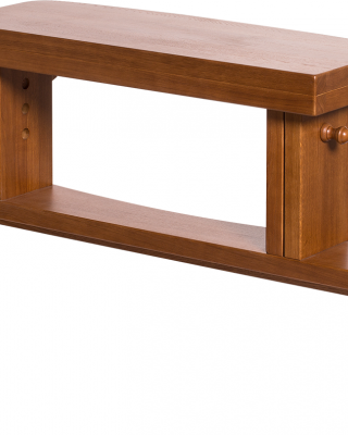Bench (height adjustable with a round profile)
